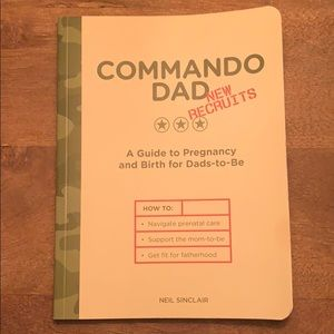 """NWT """"Commando Dad"""" Book for new Dads"""